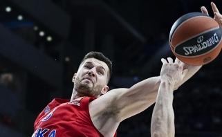 CSKA nepritapęs amerikietis keliasi į Stambulo klubą