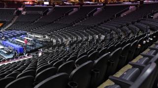 NBA rungtynėse be žiūrovų ketina naudoti tribūnų triukšmą iš videožaidimo