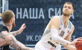 """Eurolygoje vėl žaisiantis """"Chimki"""" klubas stiprina priekinę liniją"""