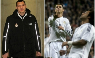 """C.Ronaldo ir 80 tūkst. fanų stadione plojo J.Mačiuliui ir """"Real"""" klubui (epizodo video)"""