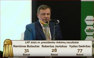 Paaiškėjo Sabonio įpėdinis: įtampą žadėję LKF rinkimai baigėsi netikėtu rezultatu