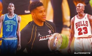 Jordano ir Garnetto pasiekimus pakartojęs Giannis įvardijo geriausią pasaulio žaidėją