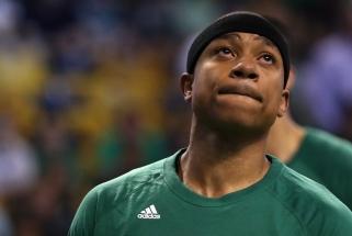 NBA solidarizavosi su išskirtinę tvirtybę nelaimės akivaizdoje parodžiusiu I.Thomasu