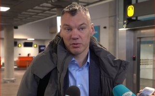 Š.Jasikevičiaus netrikdo žaidėjų iškritimas dėl traumų: bus proga pasitempti kitiems