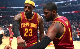 L.Jamesas: Irvingas yra geriausias žaidėjas savo pozicijoje, jis gali tapti MVP