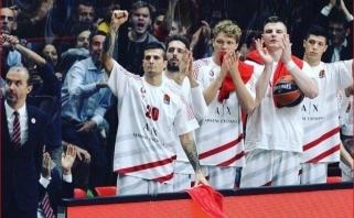 """Skirtingos lietuvių mados Milane: sukaustytas M.Kuzminskas ir """"pavogtas"""" A.Gudaitis"""