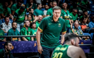 """Galutinė Lietuvos rinktinės vieta """"Eurobasket 2017"""" - devinta"""