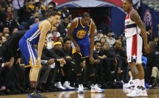 NBA: trečiasis N.Jokičiaus trigubas dublis ir kvapą gniaužianti K.Duranto trauma