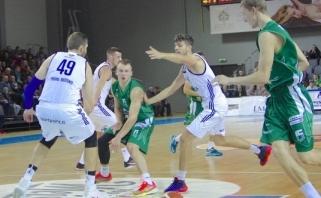 """""""Vytautas"""" antrą FIBA Europos taurės etapą pradėjo užtikrinta pergale"""