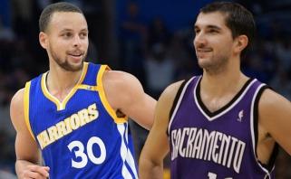 S.Curry NBA metraščiuose aplenkė legendinį Serbijos snaiperį