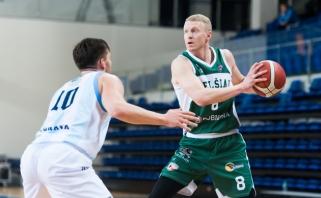 """38-erių Sirutavičius dar pažais – kartu su dar 3 jaunais žaidėjais papildė """"Atleto"""" gretas"""