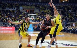 """""""Fenerbahče"""" iškovojo svarbią pergalę prieš mažai žaidusio A.Gudaičio klubą"""