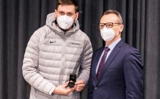Ulanovas atsiėmė LKL čempiono žiedą