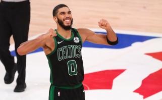 "Lemiamose rungtynėse ""Celtics"" nukarūnavo NBA čempionus"