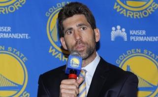 """""""Warriors"""" vadovas sukėlė audringą reakciją pareikšdamas, kad sporte nėra rasizmo"""