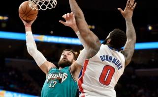 J.Valančiūno dėjimas per A.Drummondą - tarp gražiausių NBA momentų