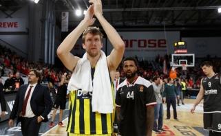 Eurolygos čempionai neturėjo vargo Vokietijoje