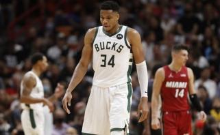 NBA lygoje – pažeminti čempionai, ne svajonių startas Dončičiui ir Curry salvės