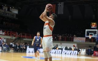 """""""Panathinaikos"""" gretas sustiprino graikas snaiperis"""