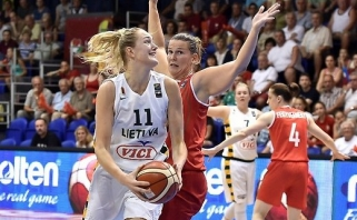 G.Petronytės benefisas išsaugojo lietuvių viltis Europos čempionate