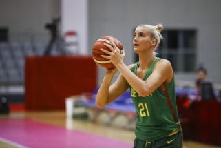 Moterų rinktinė įveikė Vokietijos krepšininkes