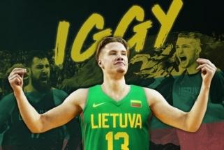 """""""Knicks"""" puolėjas I.Brazdeikis įteikė dokumentus dėl Lietuvos pilietybės suteikimo"""
