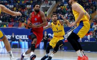 CSKA išsivežė sunkią pergalę iš Tel Avivo
