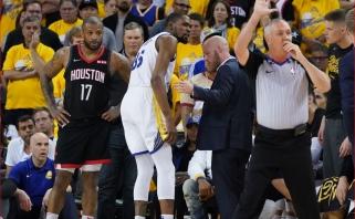 """K.Durantą praradę """"Warriors"""" - per žingsnį nuo konferencijos finalo"""