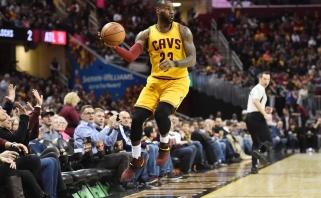 """NBA naktis: """"Cavs"""" keistai pralaimėjo namuose, """"Spurs"""" rodė jėgą Dalase"""