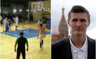 Po absurdiškų rungtynių Rusijoje A.Kirilenka griebėsi bizūno