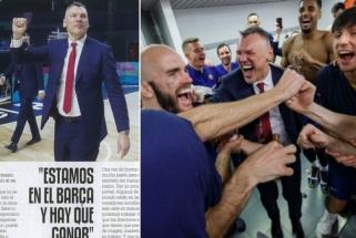 Džiaugsmą į Barseloną sugrąžinęs Jasikevičius – apie šeimos kantrybę, Gasolio faktorių ir augančias ambicijas