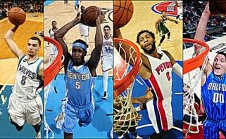 Paaiškėjo NBA dėjimų konkurso dalyviai