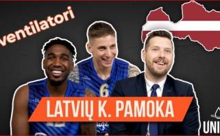 """""""Pieno žvaigždžių"""" atstovams – latviškų krepšinio terminų iššūkis"""