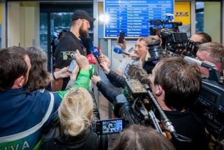 Lietuvos rinktinė sugrįžo į Vilnių