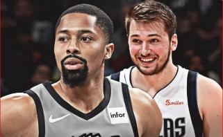 S.Dinwiddie ir L.Dončičius - NBA savaitės MVP
