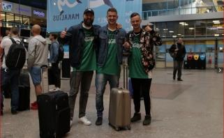 """Du """"Žalgirio"""" sirgalių lėktuvai išskrido į Belgradą"""