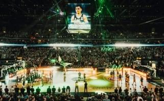 """Eurolygos atkrintamosios """"Žalgirio"""" arenoje: netrukus prasidės bilietų prekyba"""