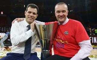 CSKA vadovas: popierinis čempionas visada liks popieriniu