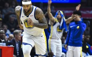 D.Cousinsas sėkmingai debiutavo NBA čempionų gretose (visi rezultatai)