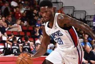 """""""Žalgirio"""" naujokas grįžo į """"Clippers"""" starto penketą, bet ypatingai neišsiskyrė"""