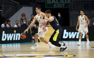Ulanovo komanda sutriuškinta ir Madride