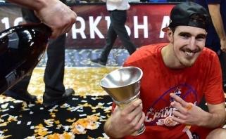 Visus trofėjus Eurolygoje susišlavusiam CSKA prancūzui - NBA klubo dėmesys