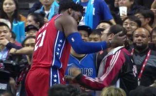 J.Embiidas: Kinijoje krepšinį myli labiau nei Filadelfijoje