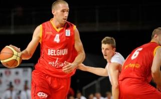 Lietuvos varžovė Belgija sutriuškino Libano rinktinę su buvusiu žalgiriečiu L.Woodsu