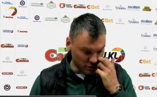 """""""Žalgiris"""" iškovojo užtikrintą pergalę Alytuje (Jasikevičiaus video komentaras)"""