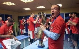 """""""Chimki"""" apšvarinęs vagis mėgino laimę ir CSKA rūbinėje - planas neišdegė"""