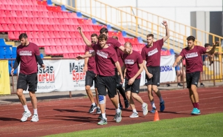 LKL vicečempionai pasirengimą sezonui pradėjo su gera nuotaika (komentarai)