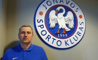 """""""Jonavos"""" prezidentas:  bandysime netolimoje ateityje tapti LKL klubu"""