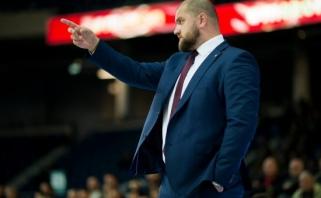 """Netikėtas posūkis: A.Štalbergas paliko """"Lietkabelio"""" vyr. trenerio postą"""