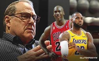 """""""Bulls"""" savininkas: reikia lyginti LeBroną su Magicu ar Robertsonu, bet ne su Jordanu"""